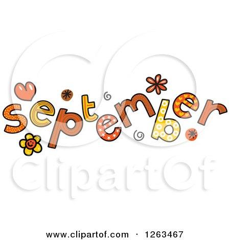 September Football Clip Art