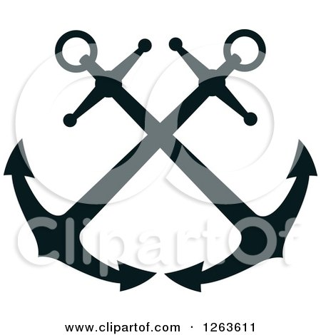 Anchor With Chain Clipart