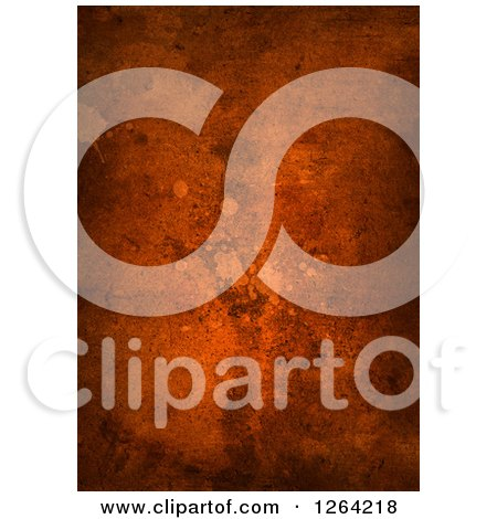 Clipart of a Background of Rust - Royalty Free Illustration by KJ Pargeter