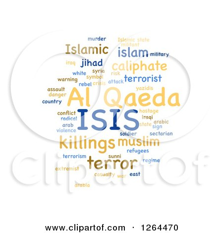http://images.clipartof.com/small/1264470-Clipart-Of-An-ISIS-And-Al-Qaeda-Word-Tag-Collage-On-White-Royalty-Free-Illustration.jpg