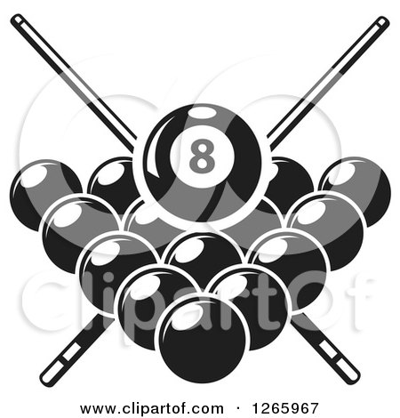 Shooting Pool Clip Art