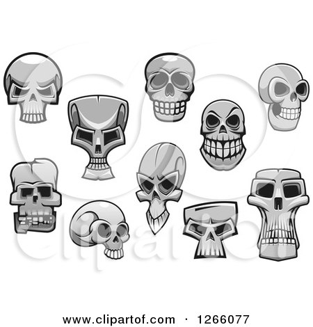 Monster Skulls Posters, Art Prints