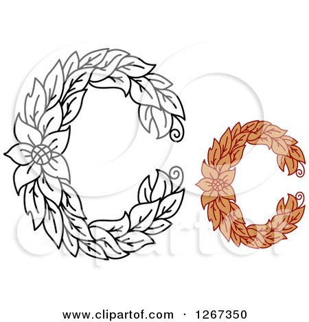 letter with designs
