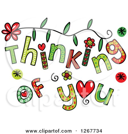 royalty free  rf  thinking of you clipart  illustrations thinking of you clipart images thinking of you clip art card