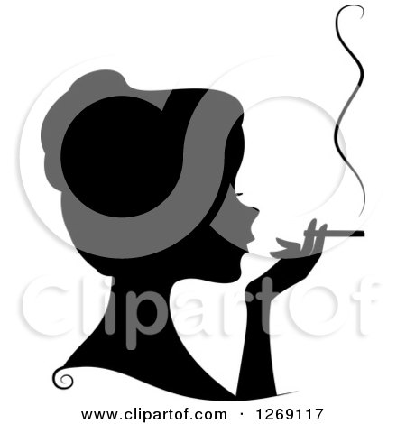 Royalty-Free (RF) Cigarette Clipart, Illustrations, Vector Graphics #1