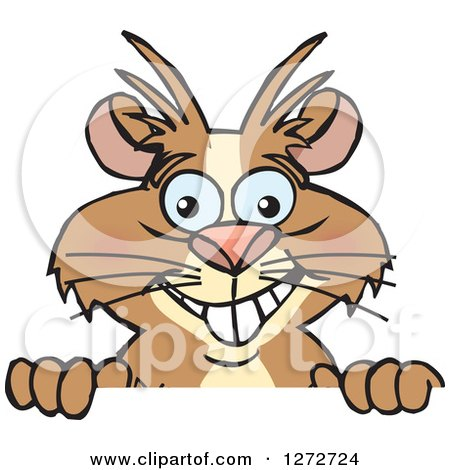 Royalty-Free (RF) Clip Art Illustration of a Cartoon Running ...