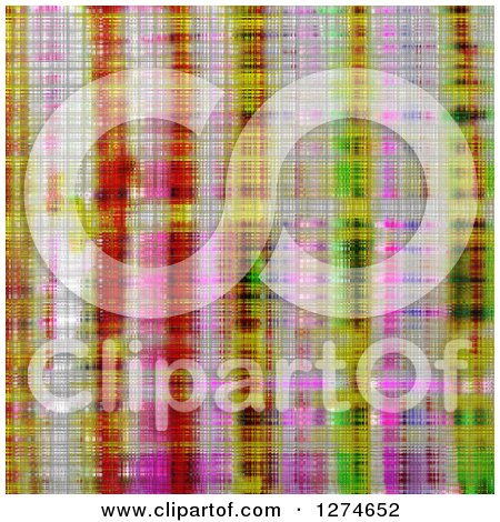 Clipart of a Metallic Tartan Weave Background - Royalty Free Illustration by Prawny