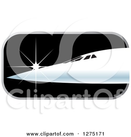 Clipart of a Green Earth and Airplane with a Spiraling Trail ...
