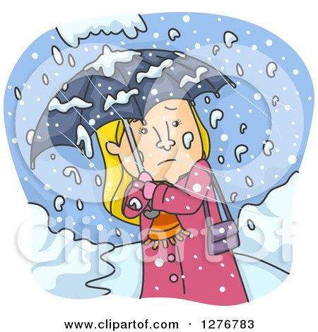 Royalty-Free (RF) Snowfall Clipart, Illustrations, Vector Graphics #1