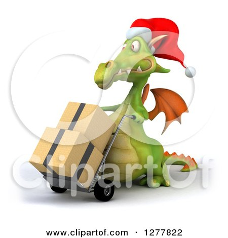 how to make a green dragon with small boxes