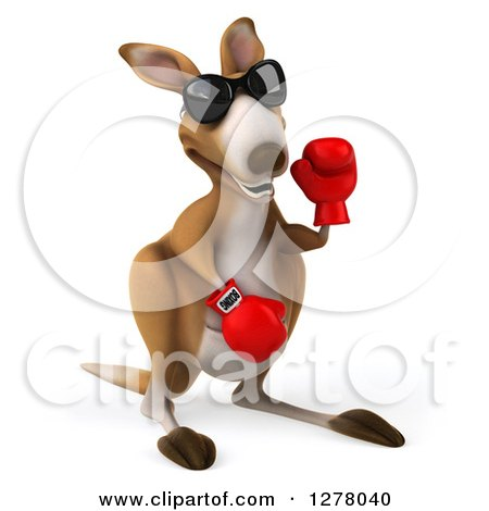 Royalty-Free (RF) Boxer Kangaroo Clipart, Illustrations, Vector ...