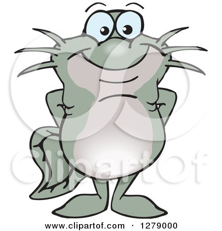 Royalty-Free (RF) Catfish Clipart, Illustrations, Vector Graphics #1