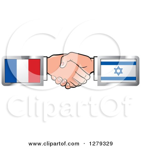 Royalty-Free Vector Clip Art Illustration of a Business Handshake ...