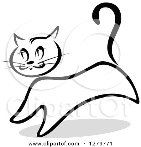 Black And Whit Evil Cat With An Arched Back 1061017 additionally  in addition Printable Halloween Coloring Crafts furthermore Clip Art further Cat. on scared gray cat clip art
