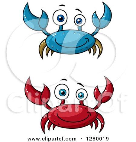 royalty free rf blue crab clipart illustrations vector graphics 1 rh clipartof com blue crab clipart free Crab Fisherman