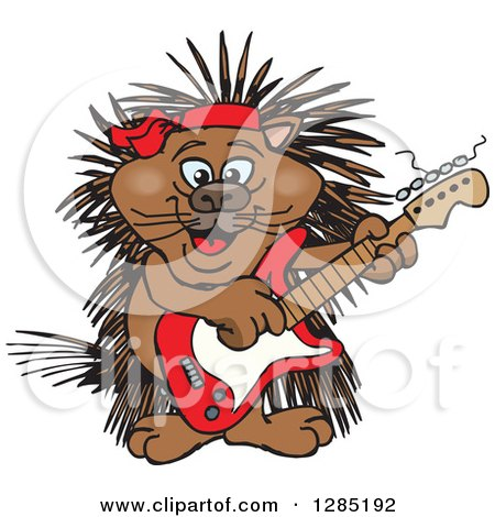 porcupine images cartoon royalty free rf clip art illustration of a cartoon 5753
