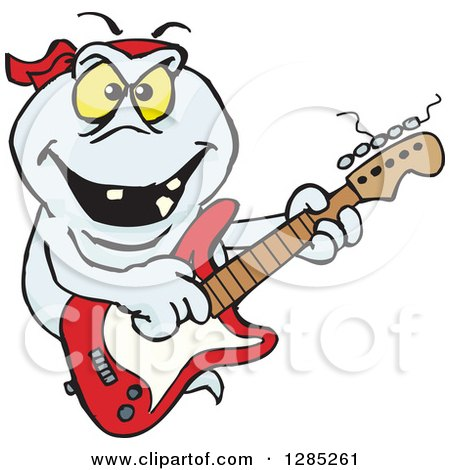how to play ghost notes on electric guitar