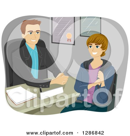 Royalty-Free (RF) Guidance Counselor Clipart, Illustrations ...