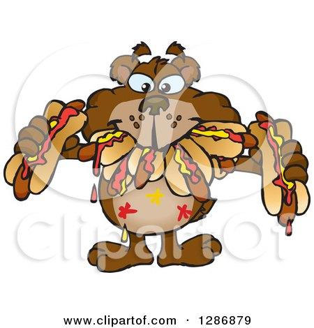 Bear Hot Dog Eating Contest