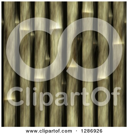 Clipart of a Seamless Bamboo Stick Pattern Background - Royalty Free Illustration by Arena Creative