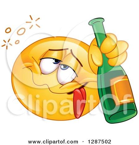 Royalty-Free (RF) Drunk Emoticon Clipart, Illustrations ...