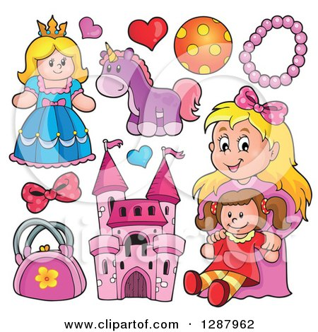 Image result for girls toys clipart