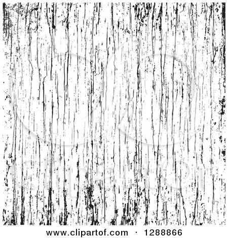Clipart of a Black and White Wood Grain Texture Overlay 2 - Royalty Free Vector Illustration by BestVector