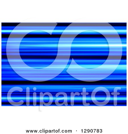 Clipart of a Background of Blue and Black Blur or Stripes - Royalty Free Illustration by oboy