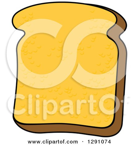 Slice of Bread Clipart Clipart of a Slice of Bread