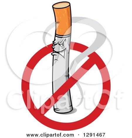Tough Cigarette Inside a Restricted Symbol Posters, Art Prints