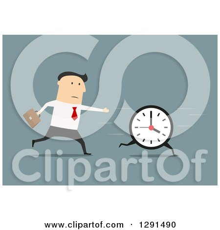 Royalty-Free (RF) Running Late Clipart, Illustrations, Vector ...