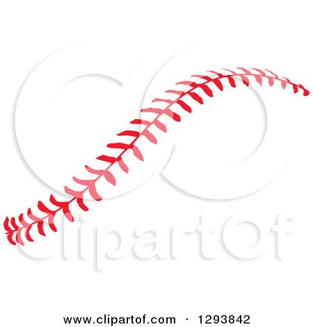 clipart of horizontal red baseball stitching royalty free vector illustration by johnny sajem. Black Bedroom Furniture Sets. Home Design Ideas