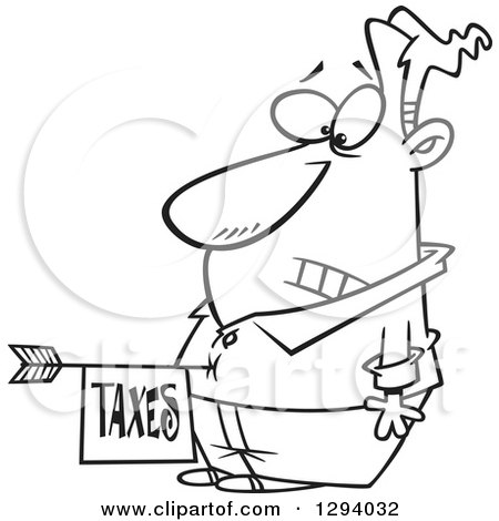 Royalty Free Stock Illustrations of Taxes by Ron Leishman ...