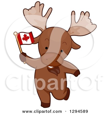 Clipart of Canadian Flags, Pins and Maple Leaves - Royalty Free ...