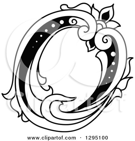 Clipart Of A Letter O Logo Design
