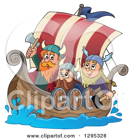 Royalty-Free (RF) Viking Clipart, Illustrations, Vector Graphics #1