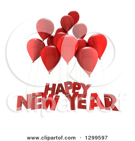 Royalty-Free (RF) New Year Greeting Clipart, Illustrations, Vector ...