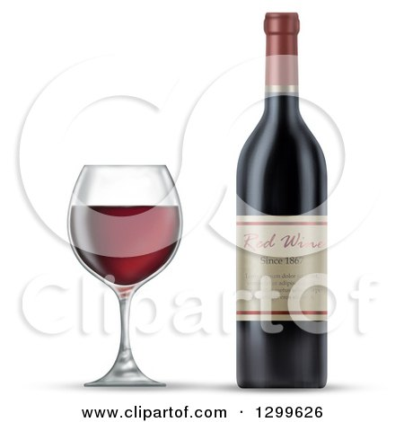 Royalty-Free (RF) Wine Bottle Clipart, Illustrations, Vector ...