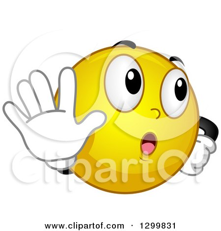 Royalty-Free (RF) Talk To The Hand Clipart, Illustrations ...