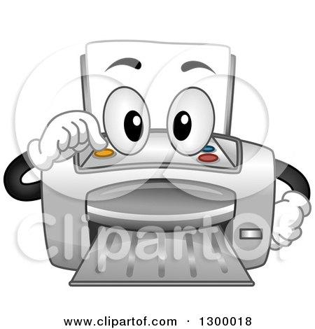 Royalty-Free (RF) Printer Clipart, Illustrations, Vector Graphics #3