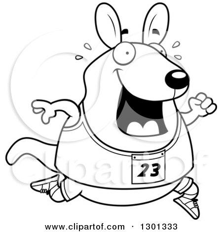 kangaroo tracks coloring pages - photo#20
