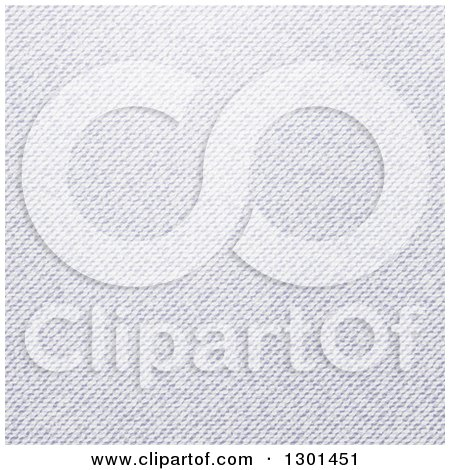 Clipart of a Denim Jeans Texture - Royalty Free Vector Illustration by vectorace