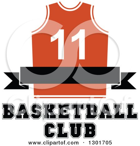 Royalty-Free (RF) Basketball Jersey Clipart, Illustrations, Vector ...