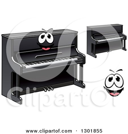 Clipart Grand Piano In Black And White - Royalty Free ... Boy With Guitar Drawing