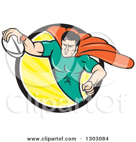 Royalty-Free (RF) Rugby Clipart, Illustrations, Vector Graphics #1