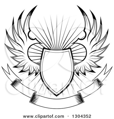Royalty-Free (RF) Clipart of Shields, Illustrations, Vector ...