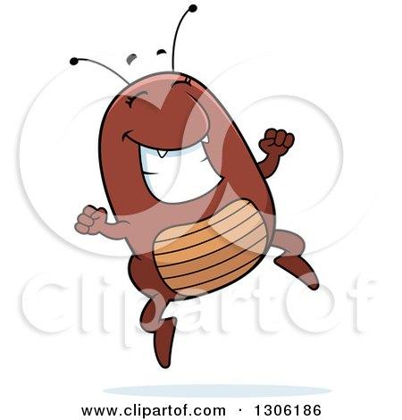 Cartoon flea - photo#48