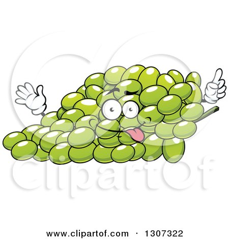 Royalty-Free (RF) Clipart of Green Grapes, Illustrations ...