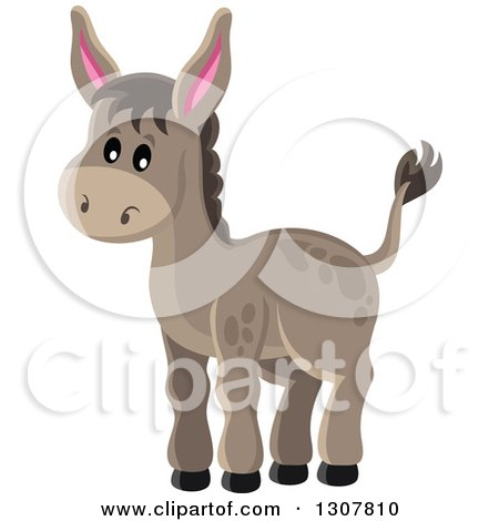 Royalty-Free (RF) Donkey Clipart, Illustrations, Vector Graphics #1