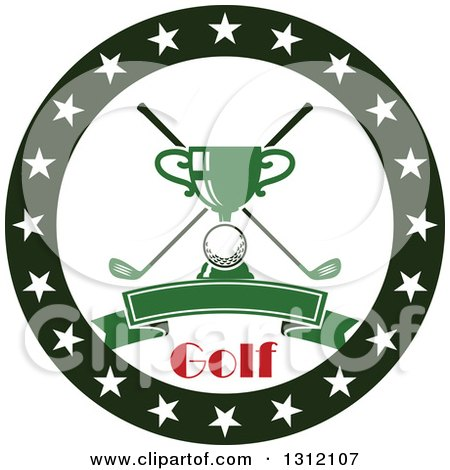 Royalty-Free (RF) Clipart of Golf Clubs, Illustrations ... Golf Ball And Club Clipart